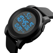 Luxury Men Analog Digital Military Army Sport LED Waterproof Wrist Watch