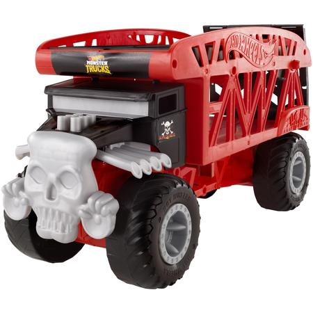 Hot Wheels Monster Truck Bone Shaker Monster Mover