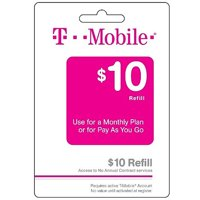 (Email Delivery) T-Mobile $10 Wireless Service