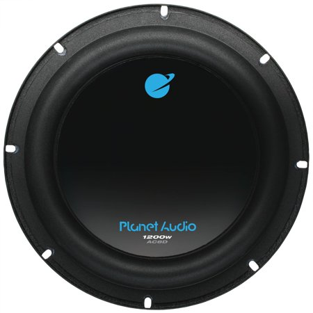 Planet Audio Anarchy8 inch DUAL Voice Coil (4 Ohm) 1200-watt Subwoofer