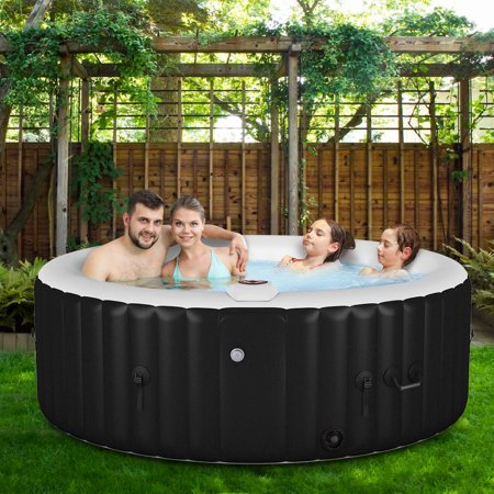 Portable Inflatable Massage Spa Hot Tub 4 Person