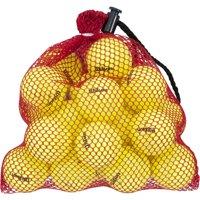 Wilson Mesh Bag of Golf Balls, Yellow, 24 Pack