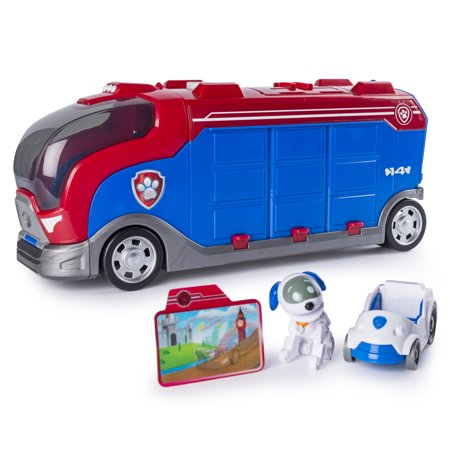 Bus Vehicles - Paw Patrol Mission Paw - Mission Cruiser - Robo Dog and Vehicle