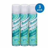 (3 Pack) Batiste Instant Hair Refresh Dry Shampoo Original Clean & Classic, 6.73 fl oz