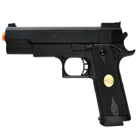 DOUBLE EAGLE P169 1911 AIRSOFT HAND GUN FULL SIZE SPRING PISTOL W 6MM BBS (Best Clay Pigeon Shooting Guns)