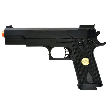 DOUBLE EAGLE P169 1911 AIRSOFT HAND GUN FULL SIZE SPRING PISTOL W 6MM BBS (Colt 1911 Defender 45 Acp Stainless Reviews)