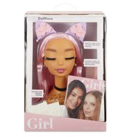 Who's That Girl Doll Face Styling Head with Comb, Accessories, Metallic Freckles, and Look Book