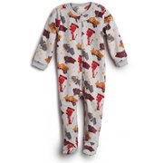995232f90 Boys  Fleece Footed Pajamas