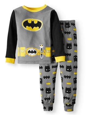 Batman Cotton Tight Fit Pajamas, 2-piece Set (Toddler Boys)