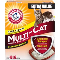 Arm & Hammer Multi-Cat Clumping Litter, 40lb