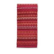 Mainstay, Popcorn Yarn Dye Kitchen Towel, 16x26, Red
