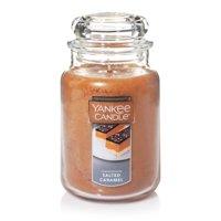 Yankee Candle Large Jar Candle, Salted Caramel