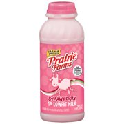 Prairie Farms 1% Lowfat Strawberry Milk, 16 oz
