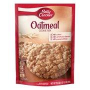 (12 Pack) Betty Crocker Baking Mix, Oatmeal Cookie Mix, 17.5 Oz Pouch