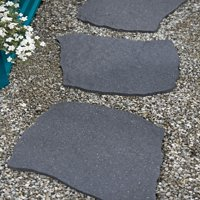 Recycled Rubber Flagstone Stepping Stone