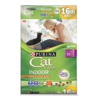 Cat Chow Indoor Adult Dry Cat Food, 16 lb