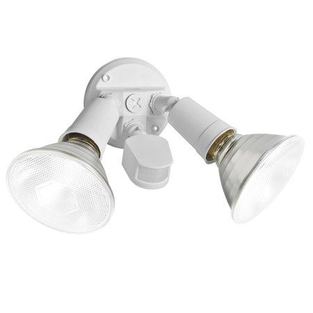 Brinks Motion Sensing Flood Light White Walmart Com