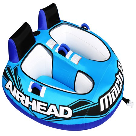 Airhead MACH 2 Towable Tube, 2 riders (Towable Water Toy)