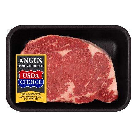 Beef Choice Angus Ribeye Steak Thick, 0.81 - 1.47 lb