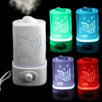 1500ml LED  Ultrasonic Aroma Humidifier Air Diffuser Purifier Lonizer Atomizer with Color Changing