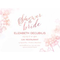 Product Image Ombre Standard Bridal Shower Invitation