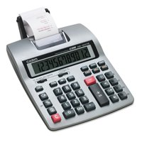 Casio HR-150TM Two-Color Printing Calculator, Black/Red Print, 2.4 Lines/Sec