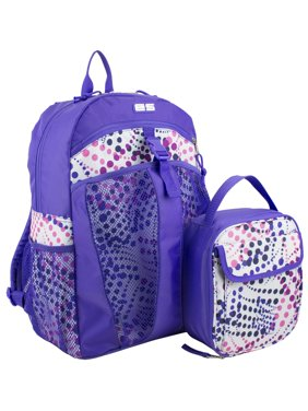 Backpack with Bonus Matching Lunch Bag