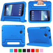Fintie Case for Samsung Galaxy Tab E Lite 7.0 /Tab 3 Lite 7.0 Tablet Kiddie Lightweight Shock Proof Stand Cover, Blue