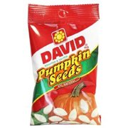 Product Of David, Pumpkin Seeds Original , Count 12 (5 oz) - Sunflower Seeds / Grab Varieties & Flavors