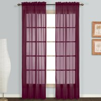 United Curtain Monte Carlo Curtain Panel Set