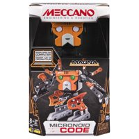 Meccano by Erector, Micronoid Code Magna Programmable Robot Building Kit, STEM Engineering Education Toy