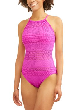 Women's Crochet One-Piece Swimsuit