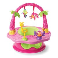 Summer Infant Island Giggles Deluxe SuperSeat, Girl