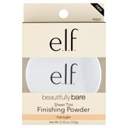 e.l.f. Cosmetics Beautifully Bare Sheer Tint Finishing Powder, Fair/Light
