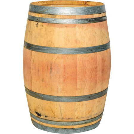 Authentic Whole Oak Wine Barrel Repurposed Walmartcom