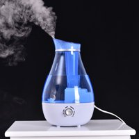 Goplus 2.5L Ultrasonic Humidifier Cool Air Diffuser Purifier Home Office Room Portable