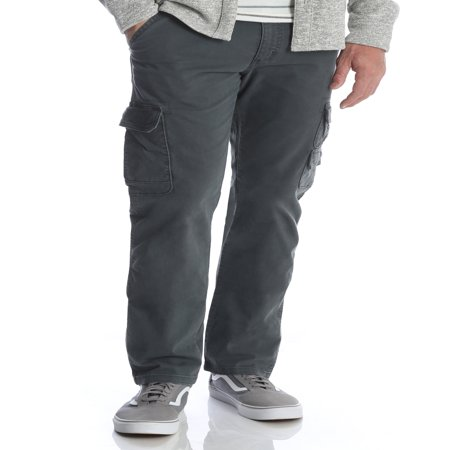 Wrangler Men's Stretch Cargo Pant (Canvas Cotton Work Pants)