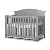 Sorelle Fairview 4 in 1 Convertible Crib, Grey