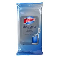 (2 Pack) Windex Electronics Wipes, 25 ct
