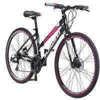 700c Schwinn Kempo Women's Hybrid Bike, Black