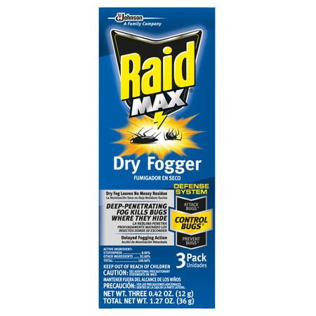 Raid Max Deep Reach Concentrated Fogger (1ct) - Ground Fogger
