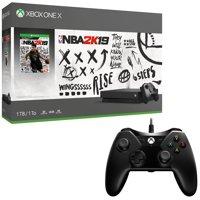 Xbox One X 1TB NBA 2K19 Console and BONUS Controller