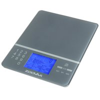 Digital Kitchen Food Scale for Nutrition Facts, Portion Control and Macros with close to 1000 food codes by ZooVaa - 10-KDS-001G