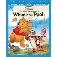The Many Adventures Of Winnie The Pooh (The Original Classic) (Blu-ray + DVD + Digital Copy)