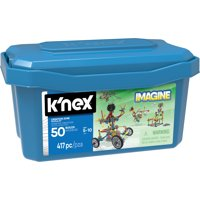 K'NEX Imagine - Creation Zone Building Set - 417 Pieces - Ages 5 and Up - Construction Educational Toy