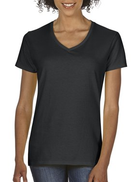 Women's Classic Short Sleeve V-Neck T-Shirt