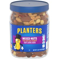 Planters Less than 50% Peanuts Mixed Nuts, 1.69 Lb.