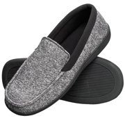 3f582ae41e1 Hanes Men s Slippers House Shoes Moccasin Comfort Memory Foam Indoor Outdoor  Fresh IQ