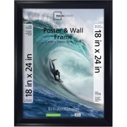 Mainstays 18x24 Casual Poster and Picture Frame, Black