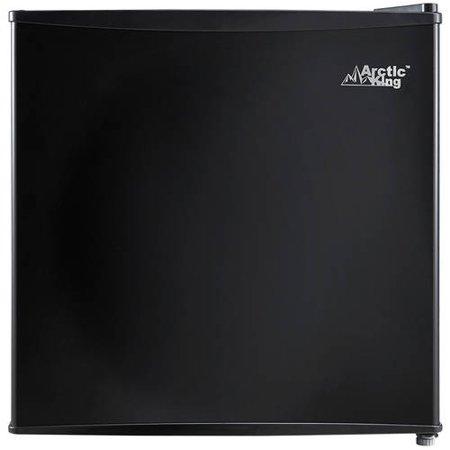 Arctic King 1.6 Cu Ft Single Door Mini Fridge, Black